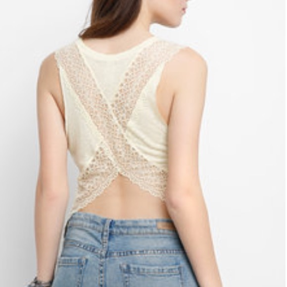 Free People Tops - Free People We the Free Peony Lace Top-S